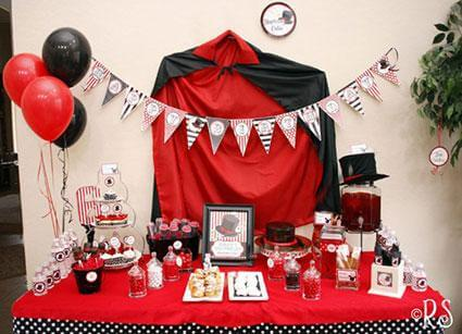 magic birthday party themes for girls