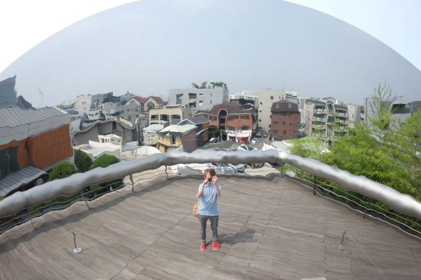 seoul korea gangnam leeum selfie mirror