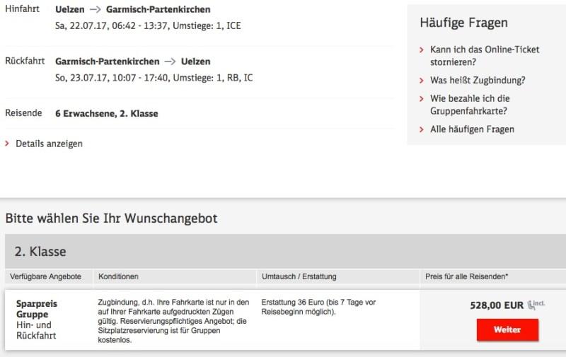 db deutsche bahn einzelbuchung gruppenbuchung gruppe sparpreis gruppe flexpreis gruppe gruppe&spar