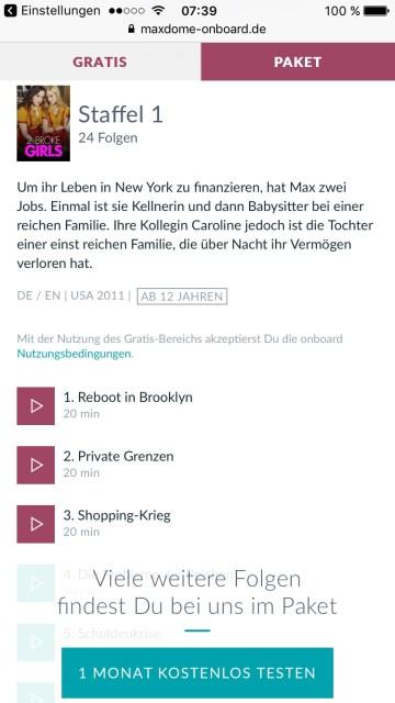 db deutsche bahn maxdome app 2 broke girls