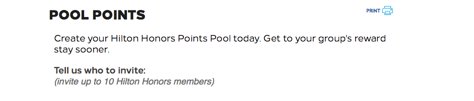 hilton honors hhonors pool poolen pooling punkte points points.com transfer