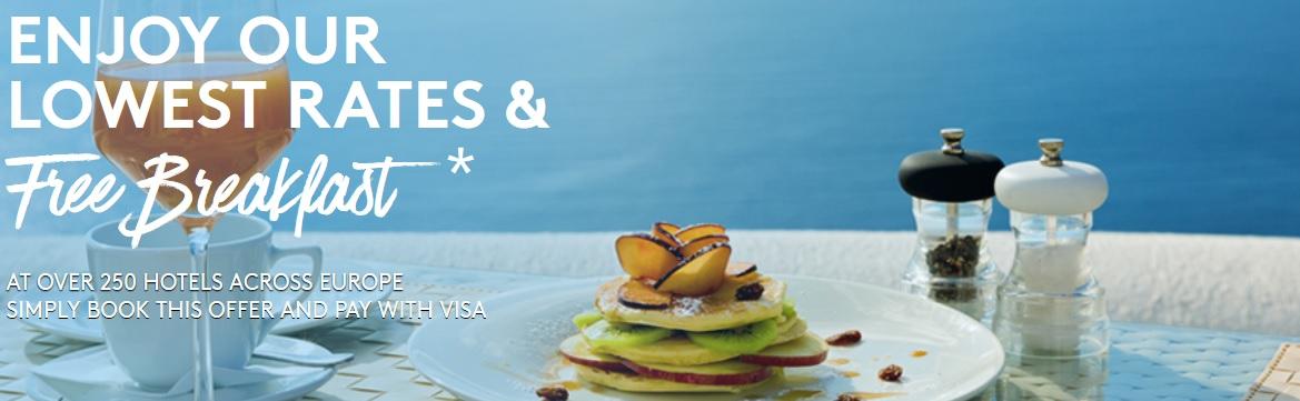 Kostenloses Frühstück | Marriott & Visa