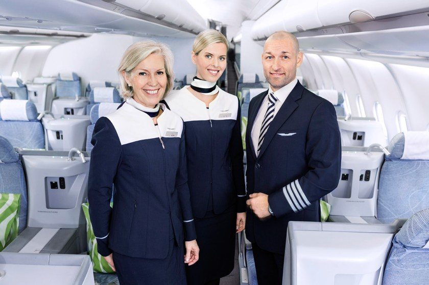 finnair uniform cabin crew