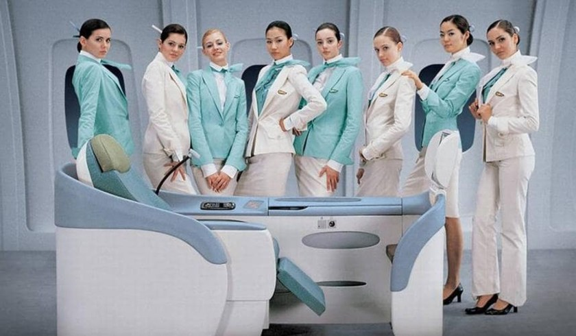 airline uniform korean air