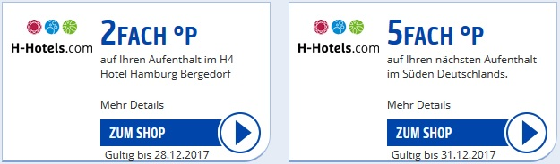hotmiles h-hotels payback ecoupon coupon