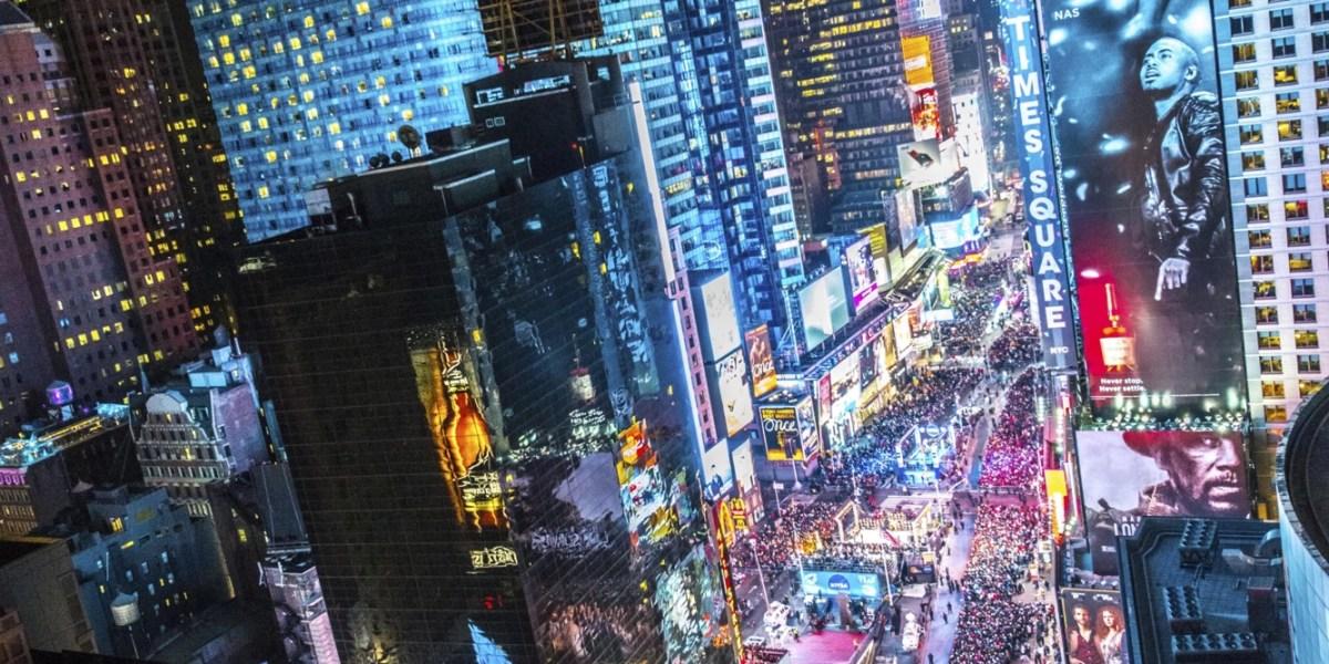 Neujahr am Times Square: Günstig übernachten