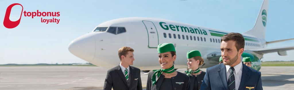 topbonus Partner-Airline: Germania