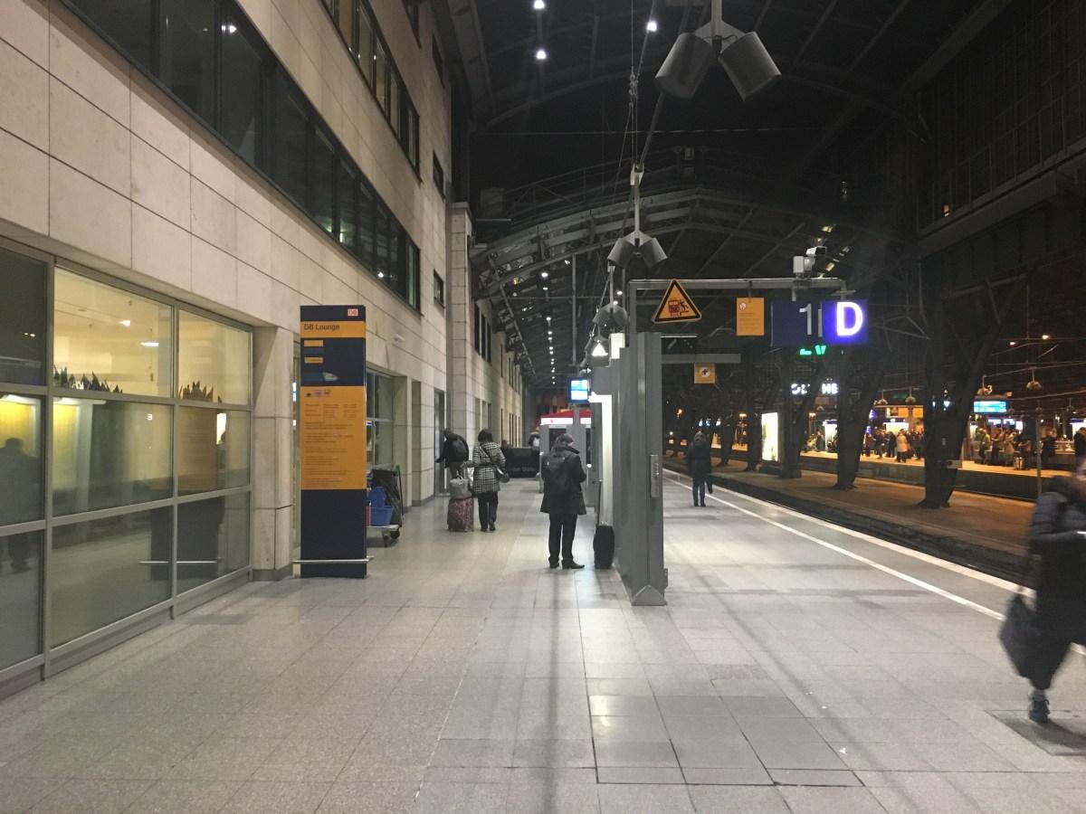 Bewertung: DB Lounge Köln Hbf, 1. Klasse corona
