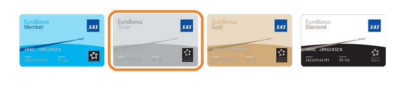 SAS Eurobonus Silver: Lounge-Zugang