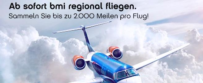 topbonus Partner-Airline: bmi regional