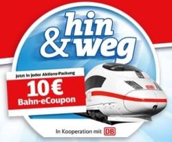 10 Euro duplo & hanuta Bahn eCoupon einlösen gutschein