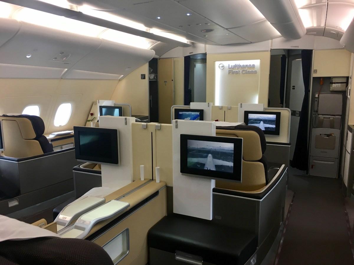 Lufthansa First Class A380 Frankfurt – Hong Kong (LH 796): Bewertung