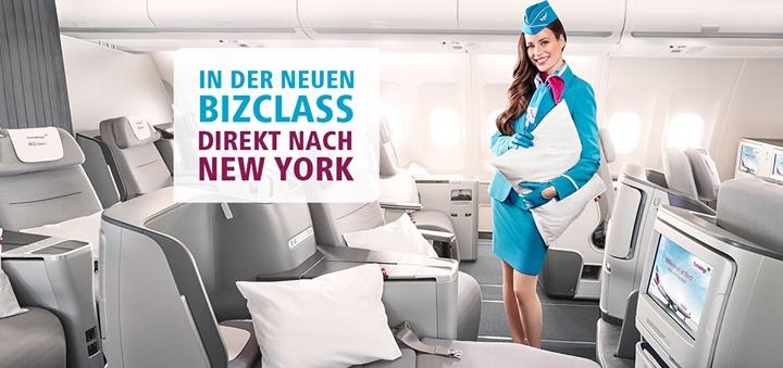 Eurowings New York BIZclass Gewinnspiel