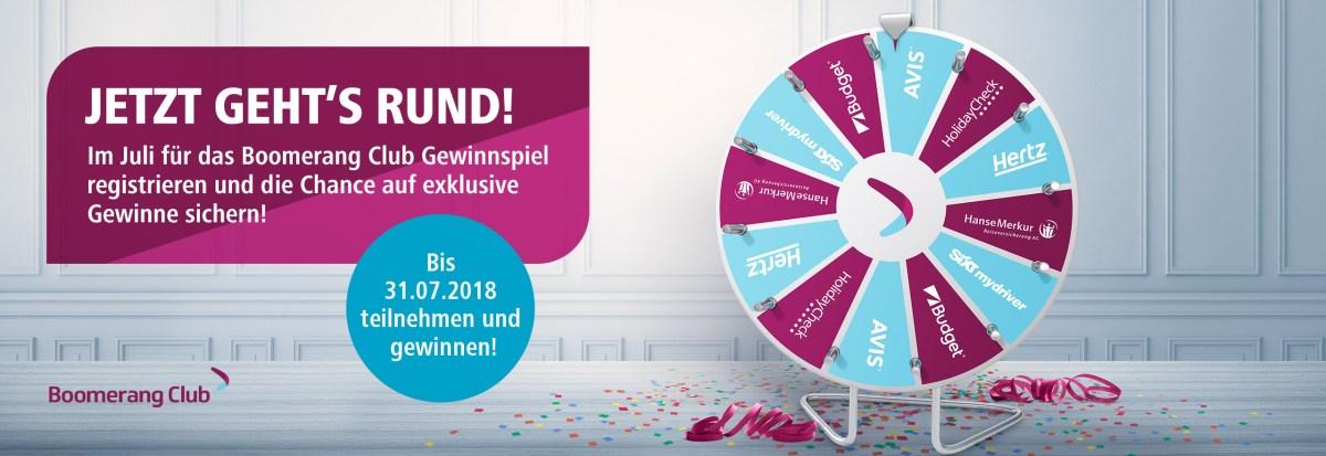 Eurowings Boomerang Club Gewinnspiel