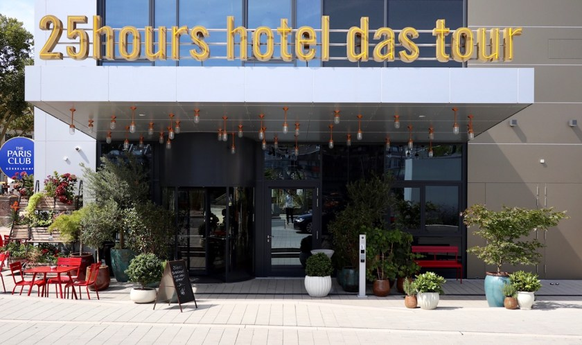das tour 25hours hotel 25hourshotel düsseldorf dus hotel review bewertung wehrhahn quartier central accor accorhotels le club leclub
