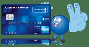 American Express payback card Kreditkarte dauerhaft kostenfrei amex 4000 punkte 4000 miles and more meilen