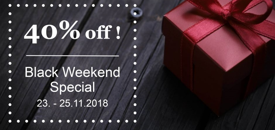 Steigenberger Black Weekend Special 2018: 40 % Rabatt
