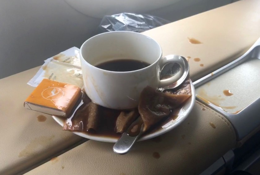 lufthansa b747 first class lh f lh456 frankfurt los angeles fra lax boeing 747 queen of the skies espresso
