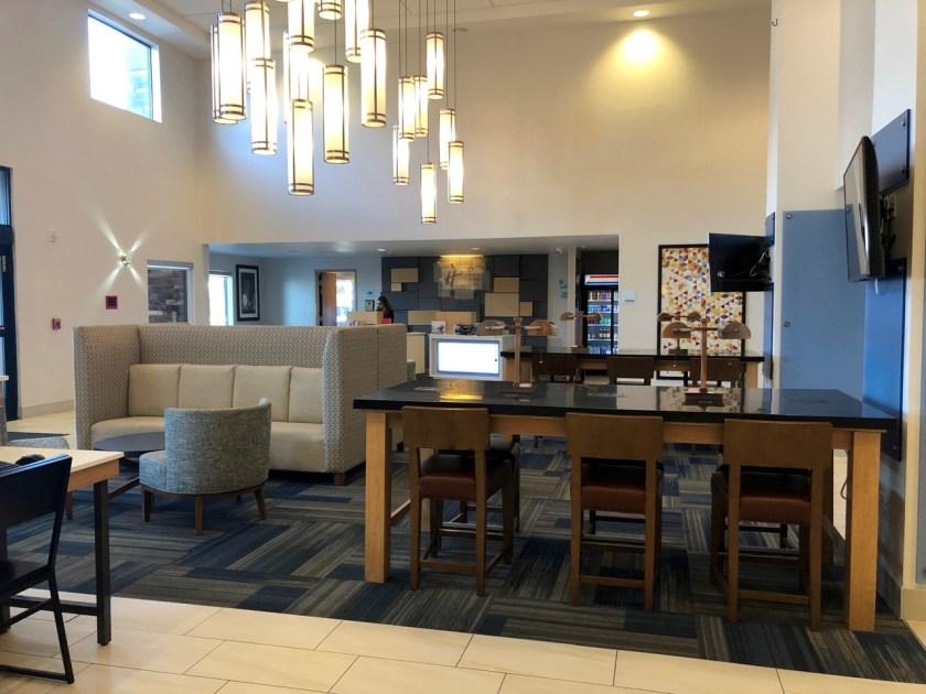 holiday inn express and suites pahrump nevada ihg rewards club lobby foyer