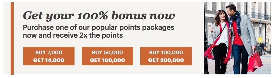 IHG Rewards Club Punkte mit 100 % Bonus kaufen – bis 16.11.19