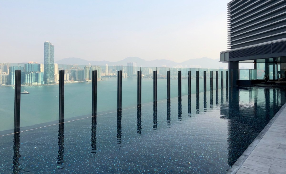 hyatt centric victoria harbour hong kong north point world of hyatt infinity pool