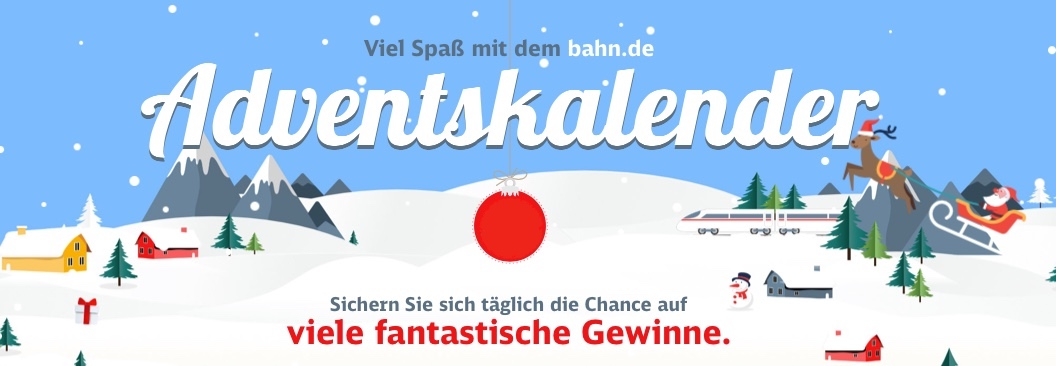 Bahn Adventskalender 2019