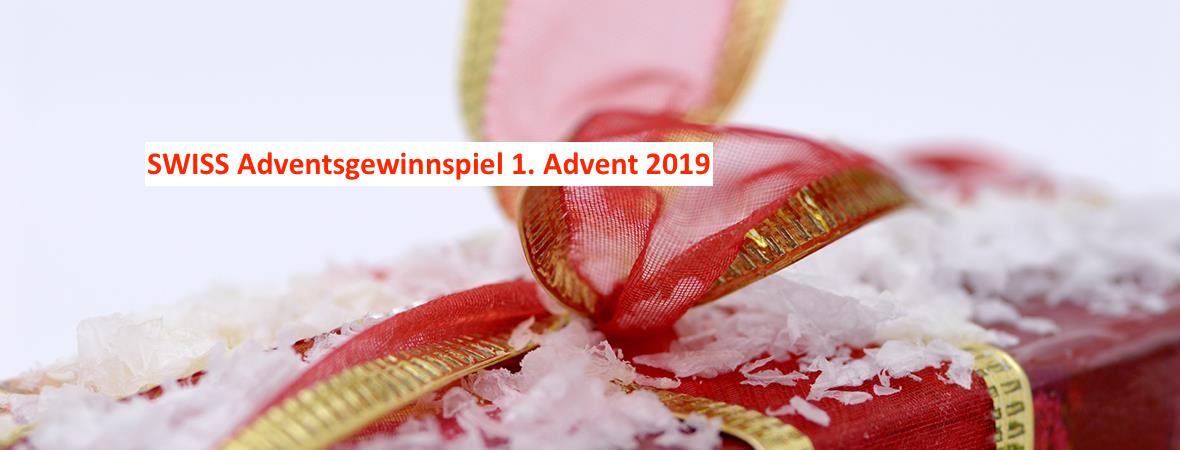 swiss adventsgewinnspiel advent gewinnspiel adventskalender 2019 1 advent lufthansa miles and more