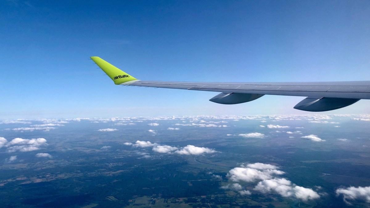 Meine Erfahrung mit dem Airbus 220 von Air Baltic