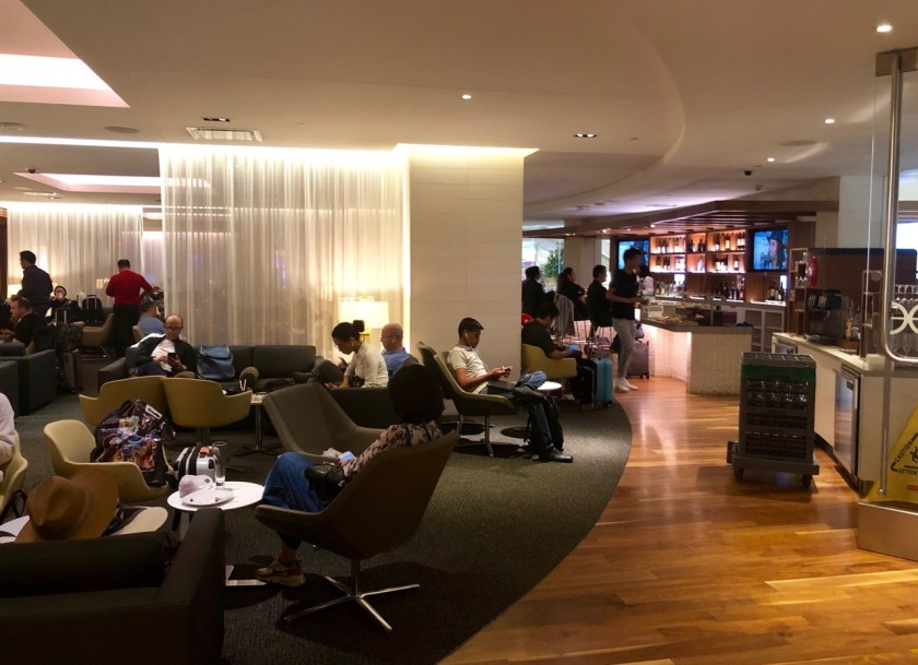 Review star alliance Lounge los angeles lax business biz geheimtipp erfahrung lufthansa eva air united