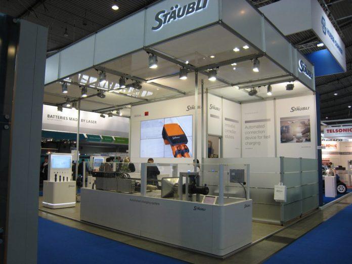 Stäubli EV Tech Expo Stuttgart
