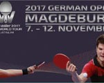 GERMAN OPEN in Magdeburg vom 07.-12. November