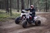 Quad-Moto-Cross: Eine Variante des Sports, die Kerstin Wilke hauptsächlich betreibt.