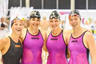 Bronze für die Puppenstaffel: Mit Sportsoldatin Annalena Geyer (rechts).