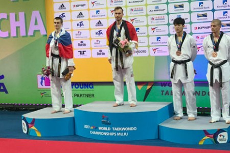 Taekwondo Weltmeisterschaften 2017 – Alexander Bachmann holt WM Gold