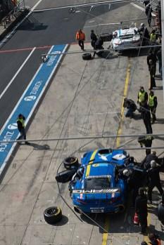 Die Mercedes-Teams konnten 2017 in der Eifel keine großen Erfolge für sich verbuchen.