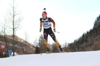 Wintersport, Biathlon Alpencup Martell, Sprint