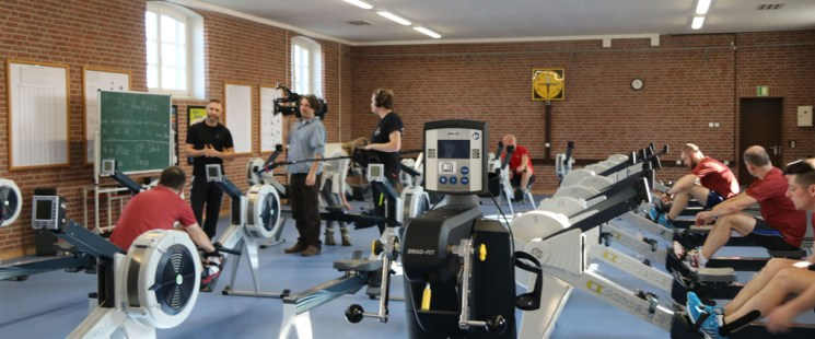 Ich bin wieder wer – Einsatzversehrte Soldaten im Trainingslager  an der Sportschule in Warendorf