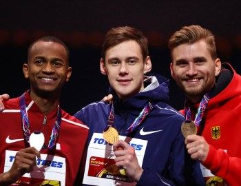 Hochspringer Mateusz Przybylko gewinnt Bronze