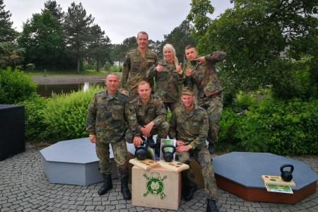 """MILFITCUP 2018 """"Ein Team, ein Ziel"""""""