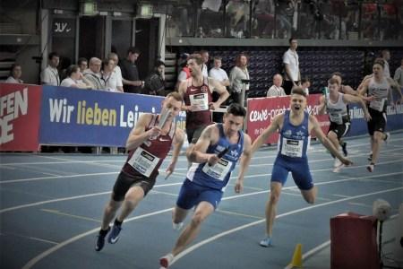 """Robert Hering –  Deutscher Vizemeister Vier-mal-200-Meter-Staffel – """"Gefightet bis zum Schluss"""""""