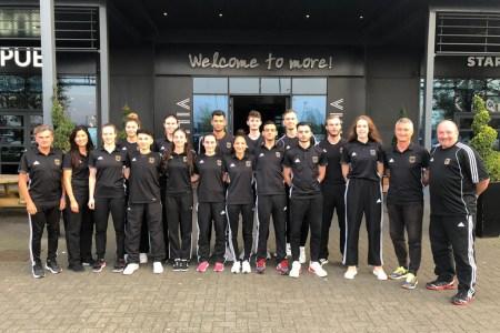 Das deutsche Taekwondo WM-Team setzt auf Allgäuer Luft für den letzten Feinschliff vor der Weltmeisterschaft