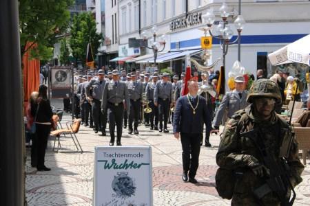 Gebirgsjäger feiern 60-jähriges Jubiläum in Bad Reichenhall