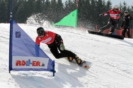 Saisonabschluss der Snowboarder Winterberg –  Baumeister rast als Zweiter zur Kristallkugel