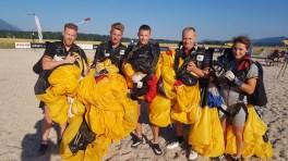 GER Team 1 (von l.): Elischa Weber, Daniel Born, Robin Griesheimer, Stefan Wiesner, Tatjana Gustke.