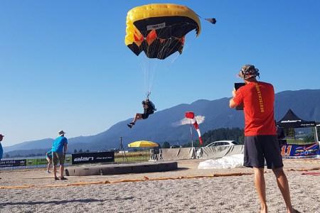 2. Weltcup im Zielspringen in Bled/SLO