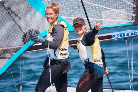 Das German Sailing Team feiert zwei Kieler-Woche-Titel und den Sieg in der Nationenwertung