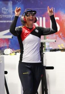 Ein Sieg nach Plan: Monika Karsch hat ihren Titel erfolgreich verteidigt.