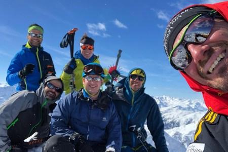 """""""Führungsmittel Zahnstocher"""" – Weiterbildung der Fachsportleiter Skitour im Lechtal (Tirol)"""