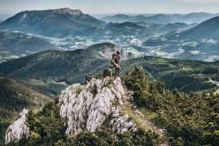 Gebirgsjäger vor der Kulisse des Berchtesgadener Landes – ihres Heimatstandortes.