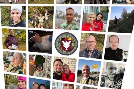 Spendenlauf: Gemeinsam einsam um die halbe Welt